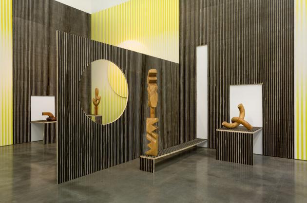 Claudia Comte:NO MELON NO LEMON http://www.gladstonegallery.com/exhibition/9730/installation-view#&panel1-1