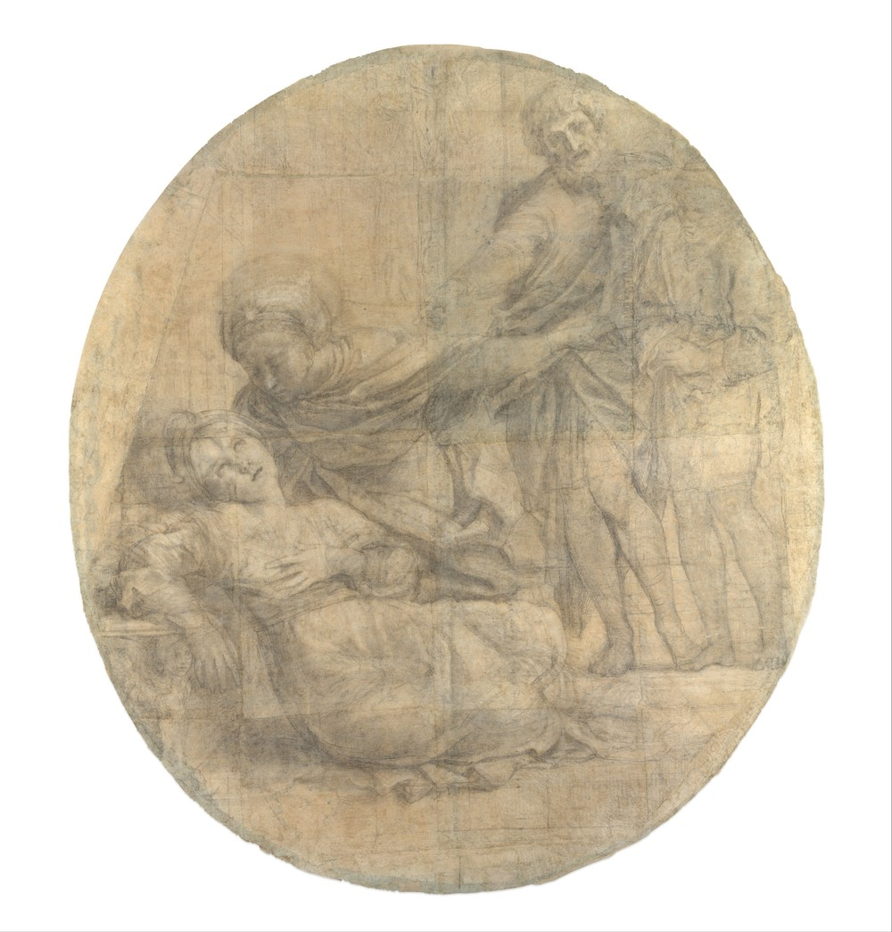 """Drawings and Prints:Selections from the Permanent Collection (Domenichino, Met)-""""the most important Italian Baroque drawing in the United States"""""""