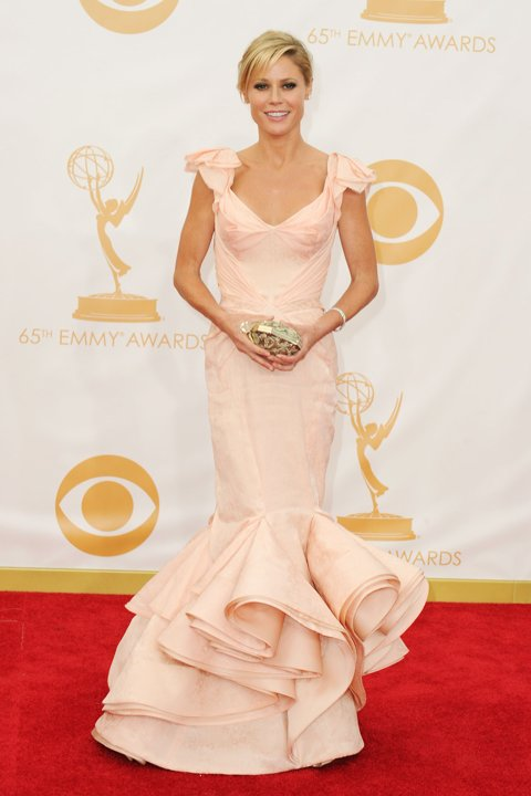 BEST DRESSED: Julie Bowen in Zac Posen
