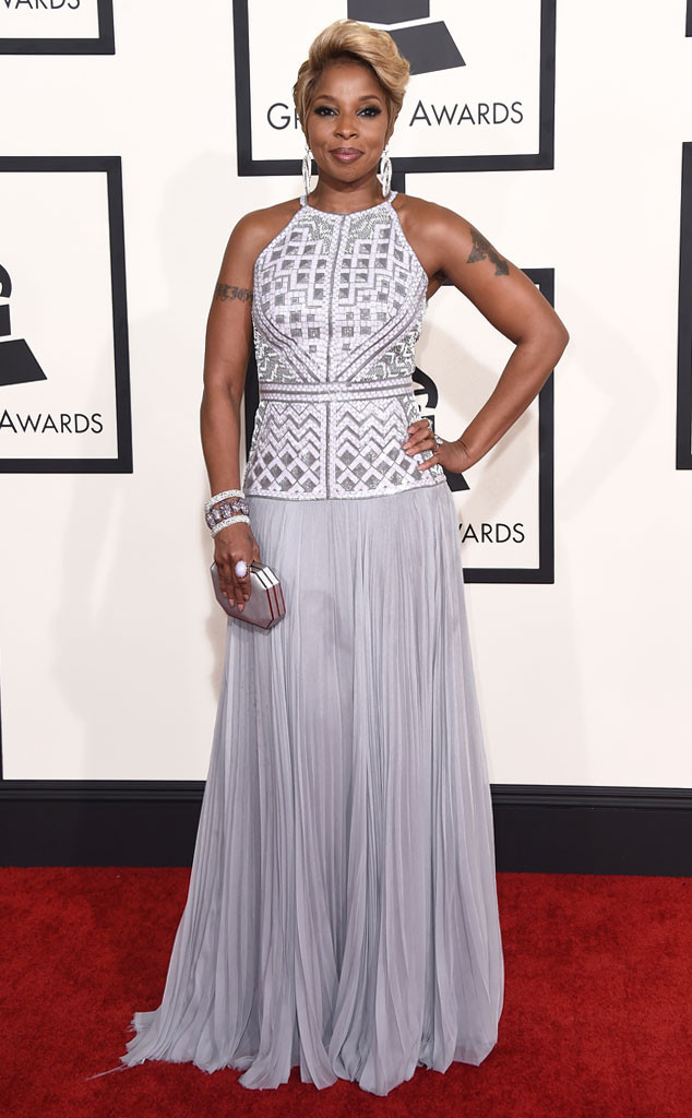 Mary J. Blige In J. Mendel
