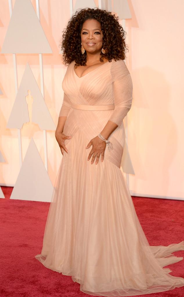Oprah Winfrey in Vera Wang