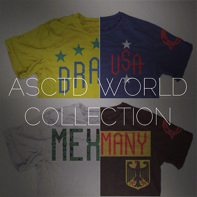 Get ready the ASCTD World Collection is coming soon! #worldcup #mexico #brazil #USA #soccer #losangeles #brazil2014