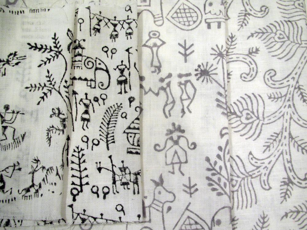 Khadi, hand block print