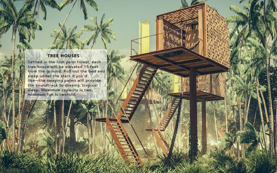 ACRE tree houses