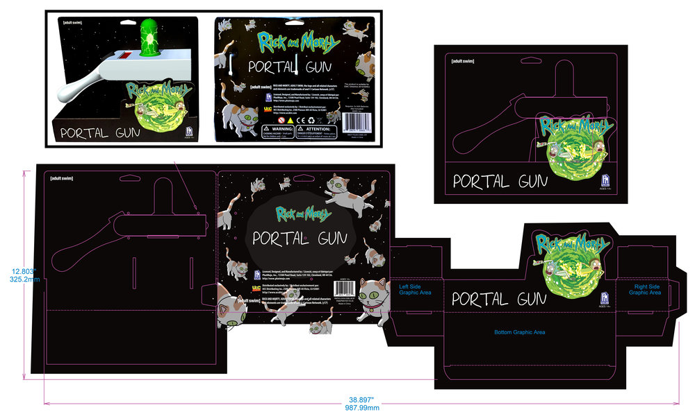 Package Design Layout