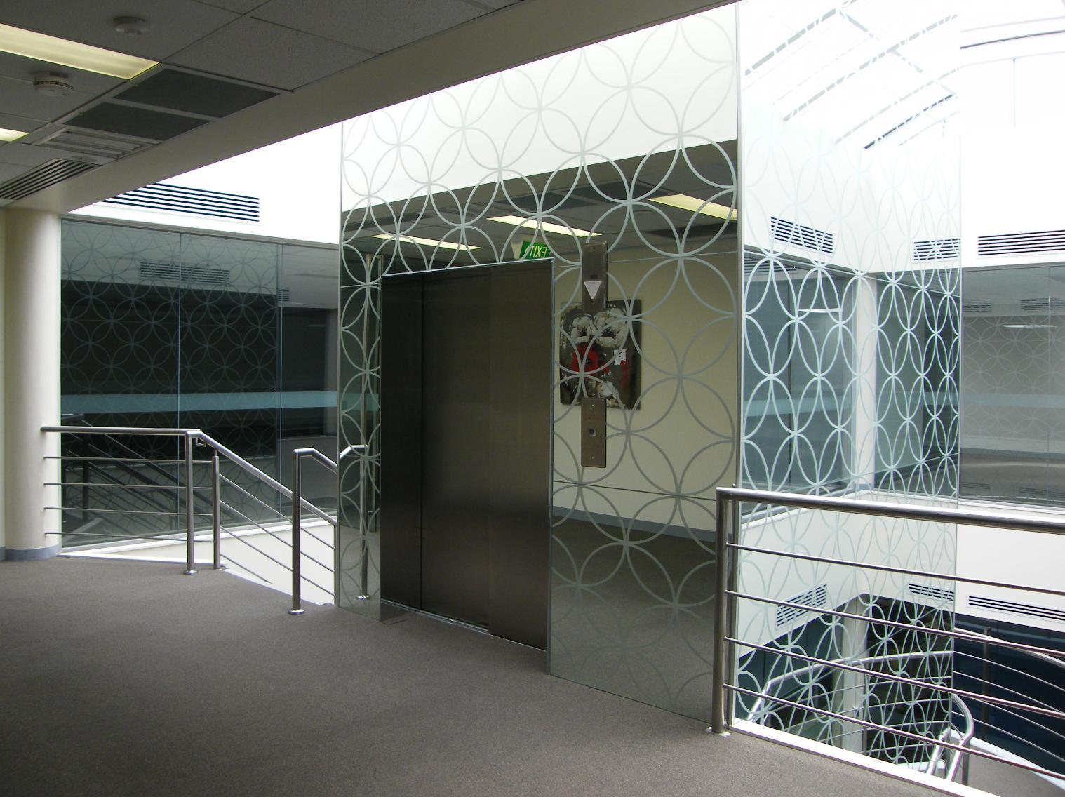 Lift lobby refurbishment