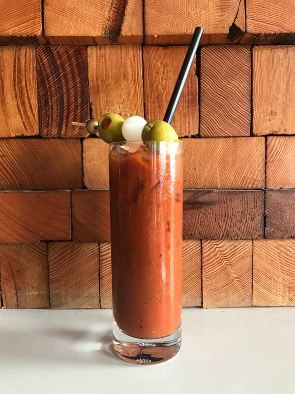 Spicy Tito's Bloody Mary by Fountainhead Bar