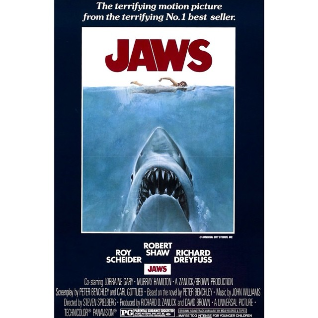 Tomorrow night Amagansett Square will show its first Classic 1970's Film: J A W S.  Movie starts at sundown. @meeting_house will be serving pizza by slice outside and/or food/drink to go.