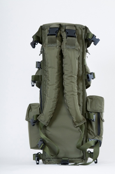 Above you can see the rear view of the Big Lens Bag™. Note the shoulder straps.
