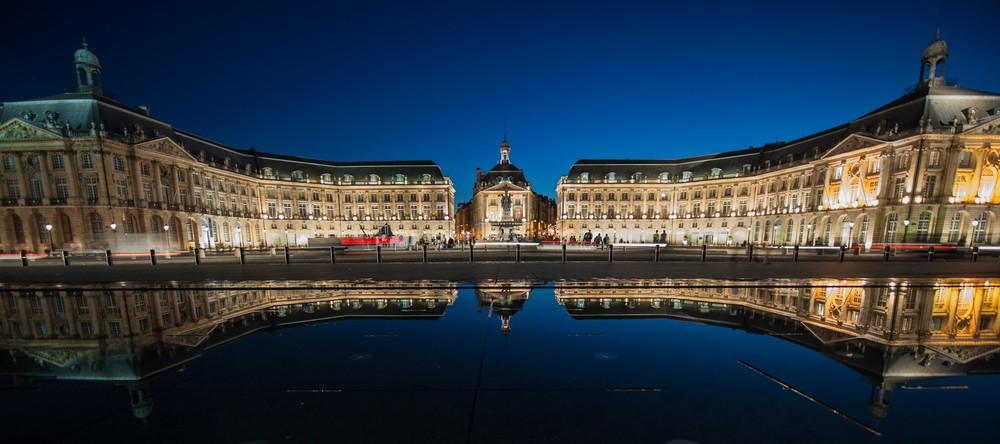 Reflection Pool (Bordeaux, France) Featured by the Flickr team via their Twitter account. Tweet:https://twitter.com/Flickr/status/25105441078708633