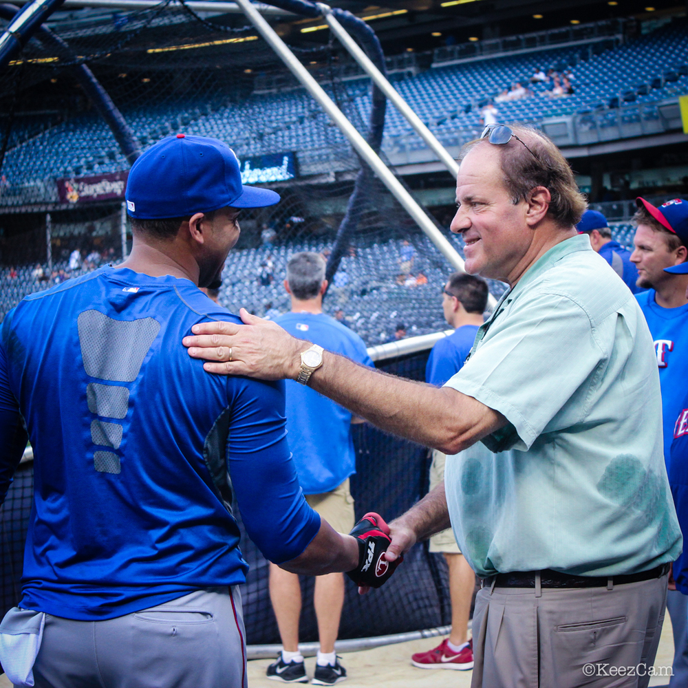 NELSON CRUZ & CHRIS BERMAN