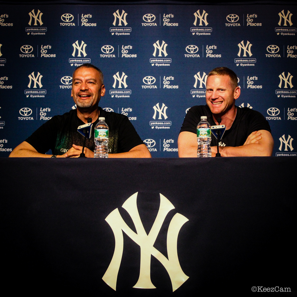 NEW YORK YANKEE LATIN PRESS CONFERENCE