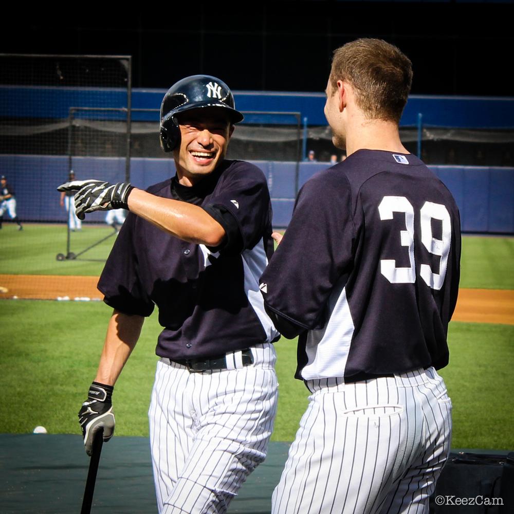 Ichiro & David Adams