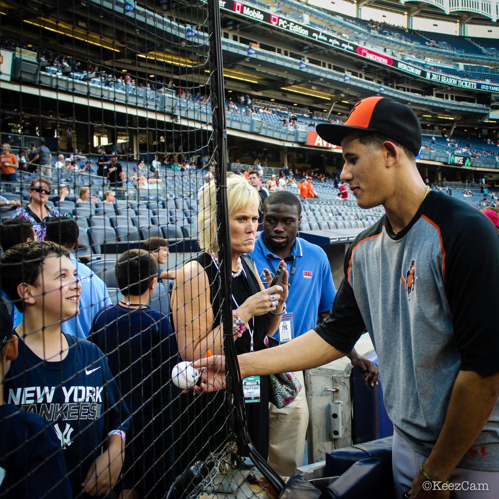 Manny Machado & The Yankee Fans
