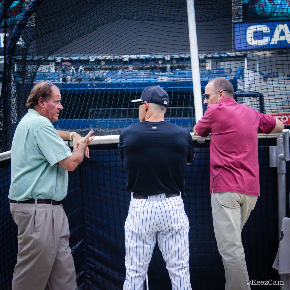 ESPN Chris Berman, Joe Girardi & Brian Cashman