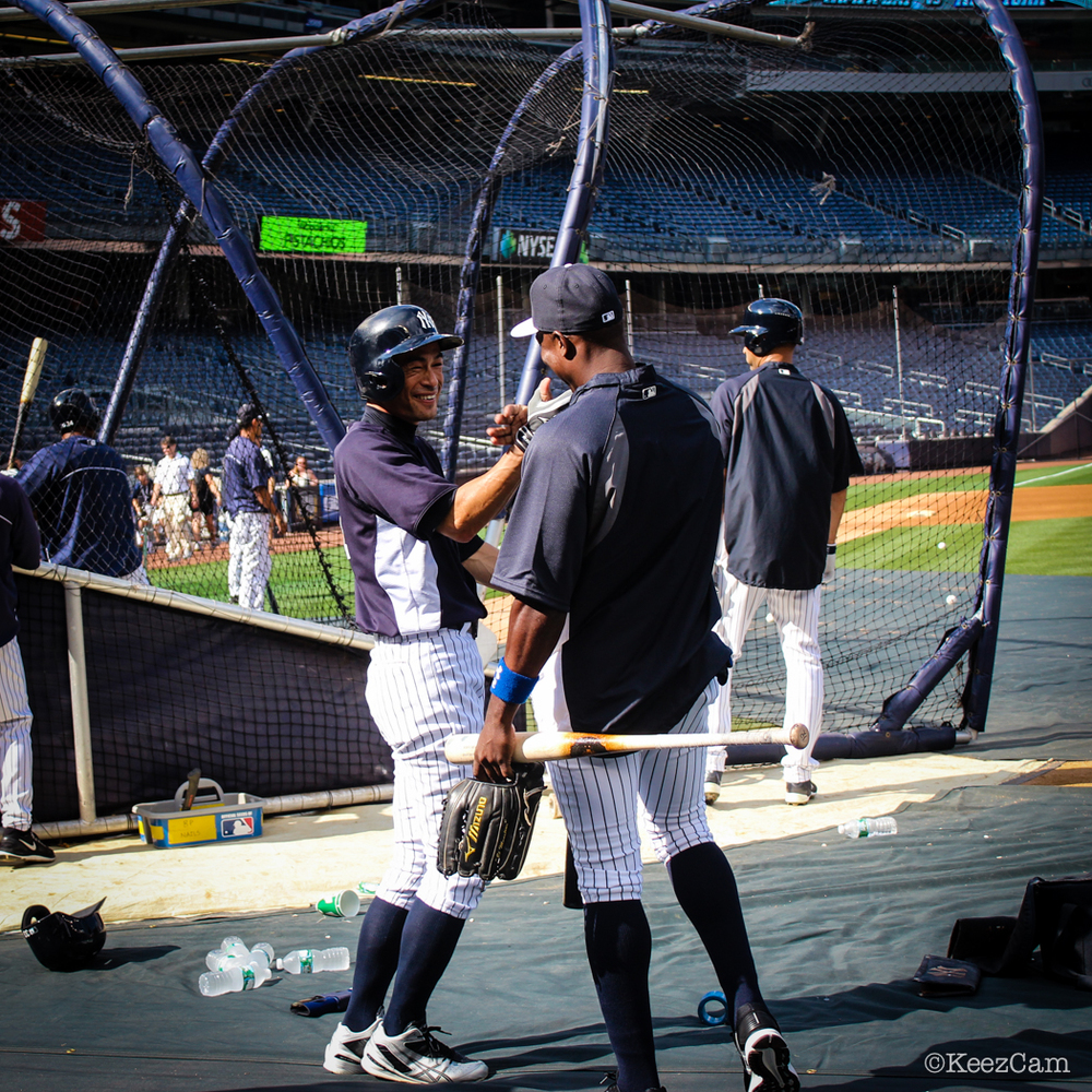 Ichiro Welcomes Alfonso