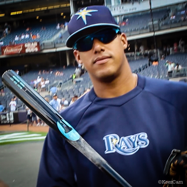 Yunel Escobar & the Chandler Bat