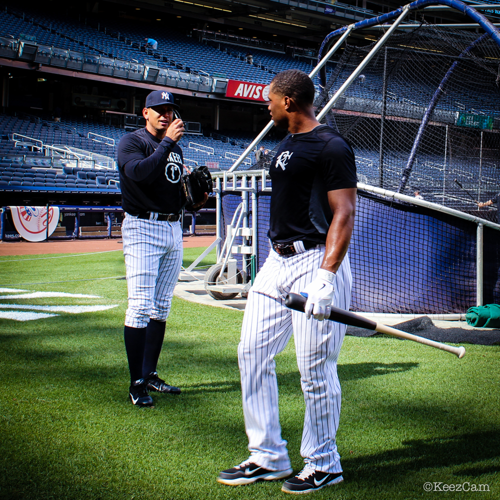 Robinson Cano & Alex Rodriguez  Photo by Gemini Keez