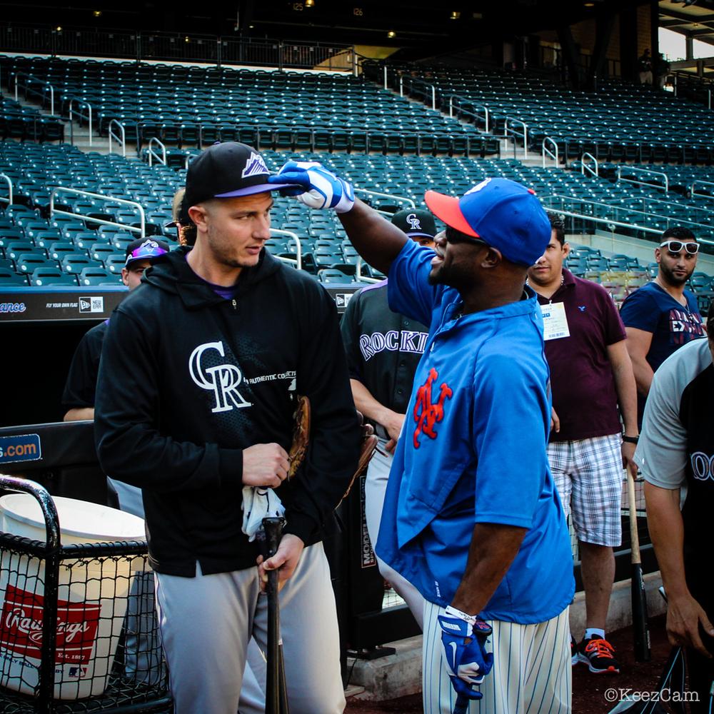 Troy Tulowitzki & Eric Young