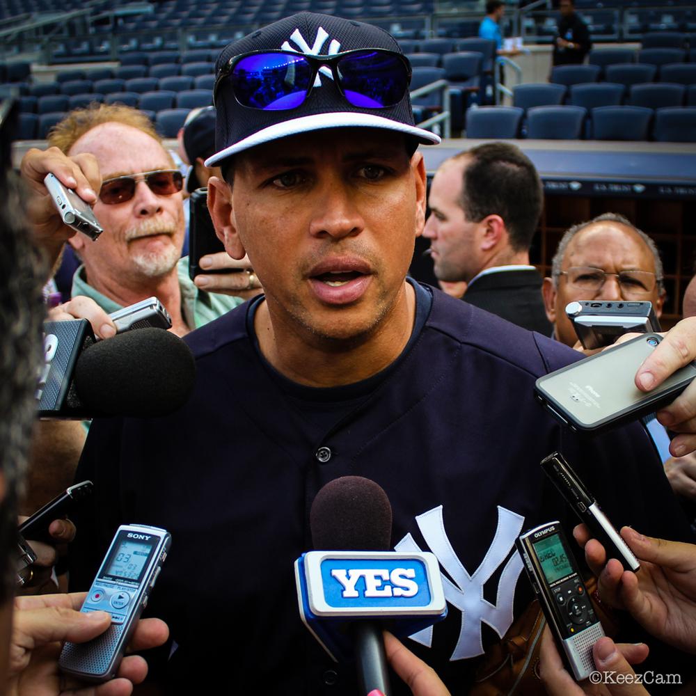 Alex Rodriguez & the press