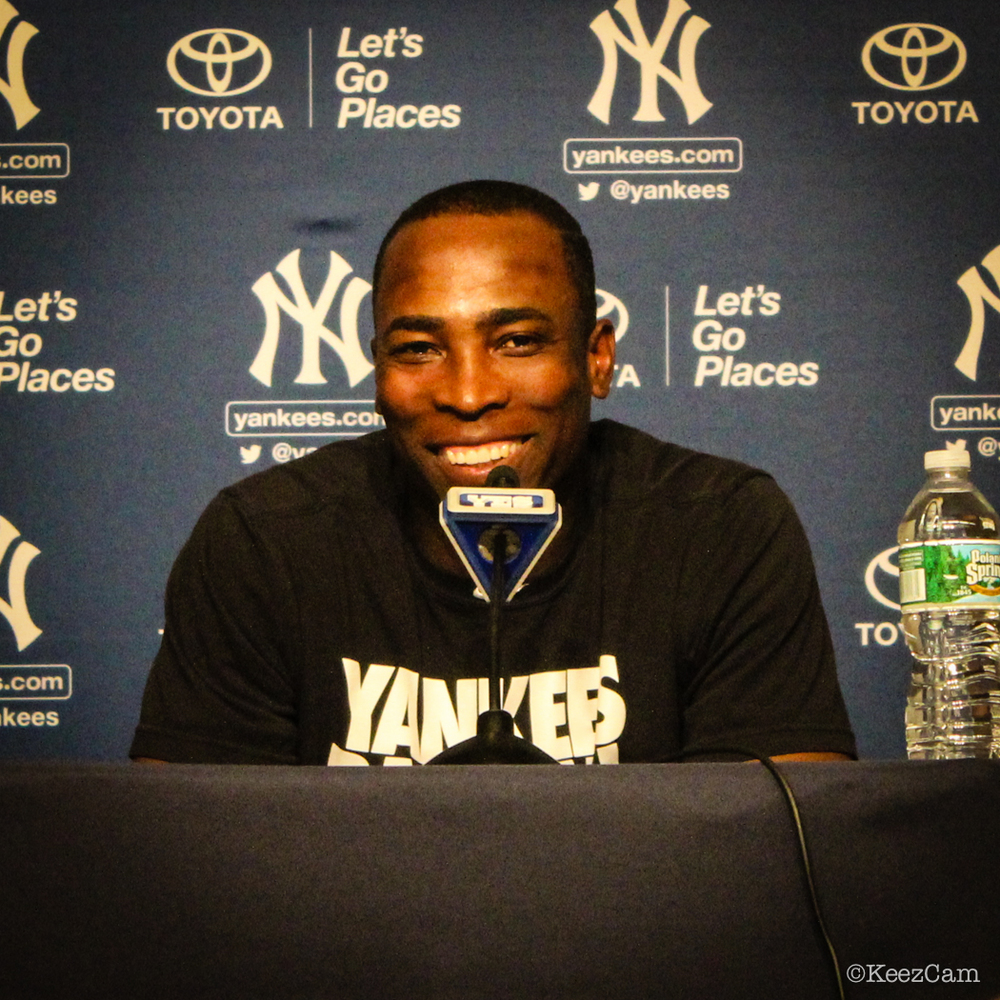 Alfonso Soriano's game winning smile