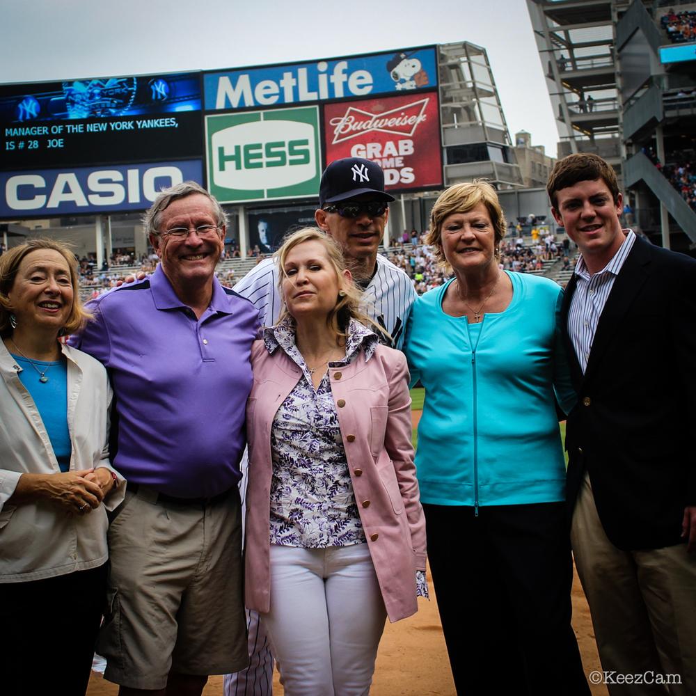 Pat Summit & Family