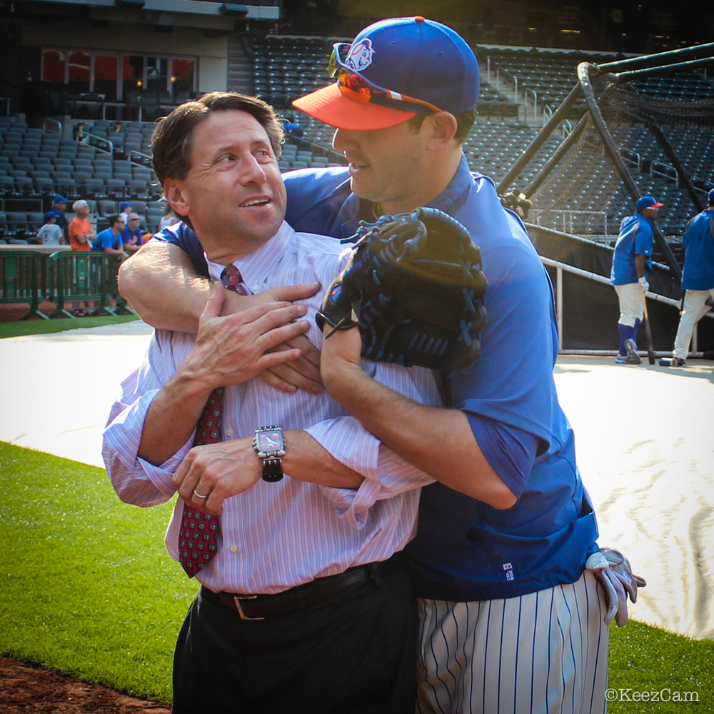 New York Mets COO Jeff Wilpon & Matt Harvey