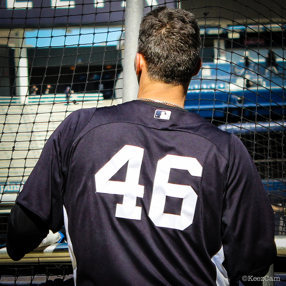 The end of a great Yankee career comes to an end at the stadium today for Andy Pettitte  Photo by: Gemini Keez