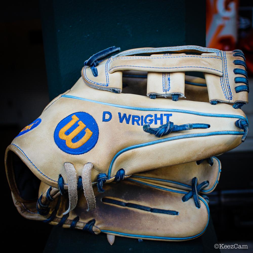 David Wright's Glove