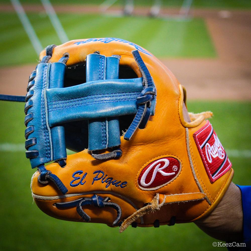Pedro Feliciano's practice glove