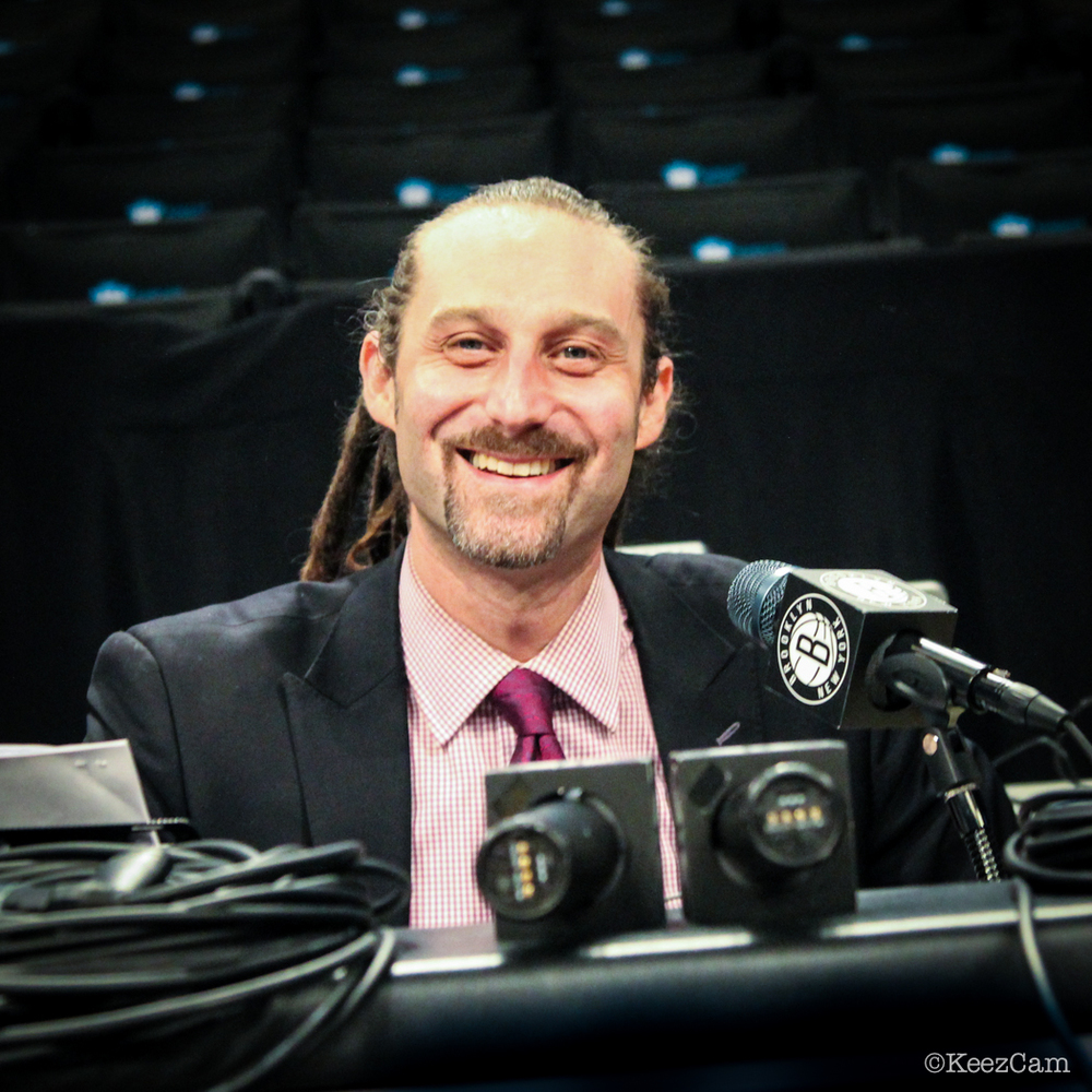 Brooklyn Nets PA Announcer David Diamante