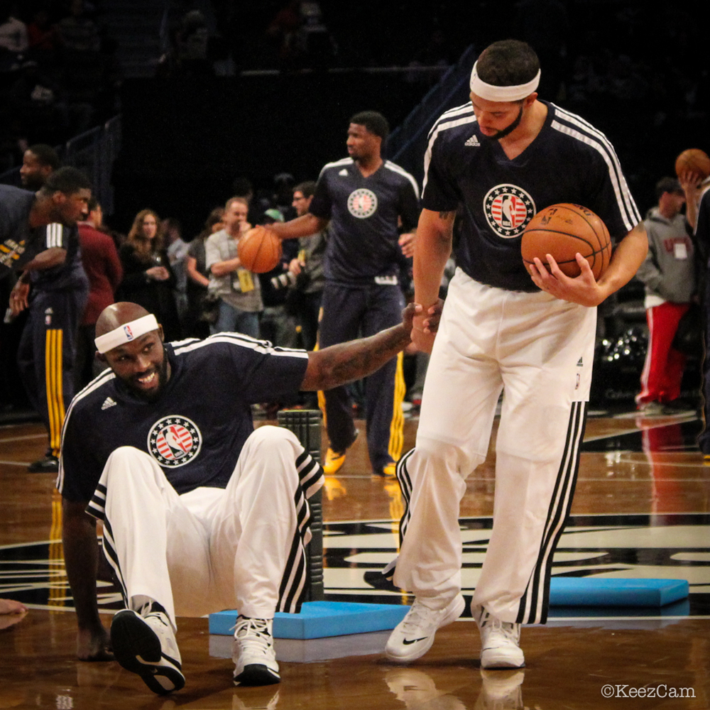 Reggie Evans & Deron Williams