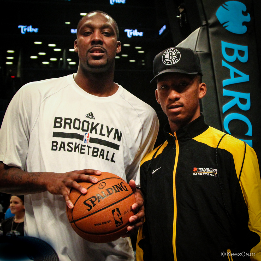 Andray Blatche & Young Brother
