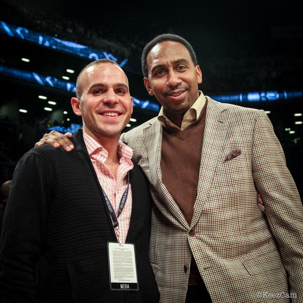 ESPN NY Radio Duo Ryan Ruocco & Stephen A. Smith