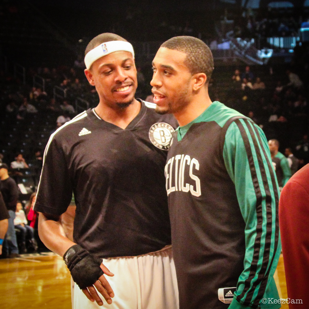 Paul Pierce & Courtney Lee