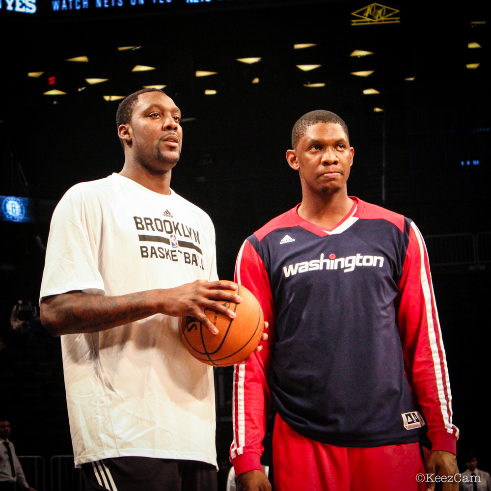 Andray Blatche & Kevin Seraphin