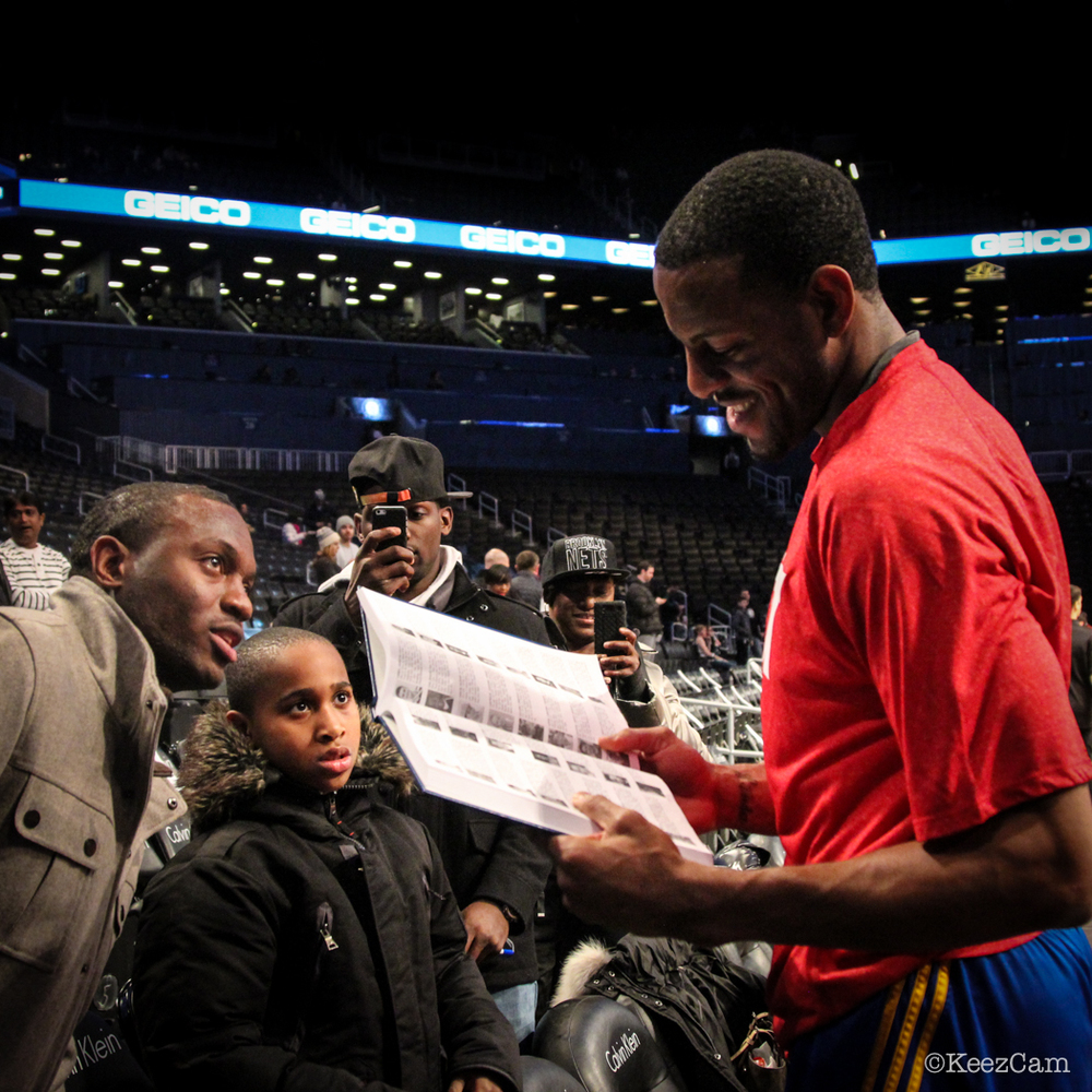 Andre Iguodala & Fans