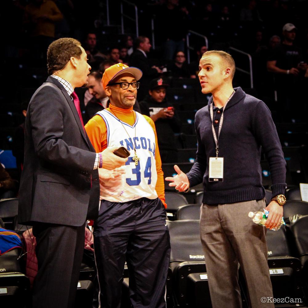 Chris Broussard, Spike Lee & Ryan Ruocco