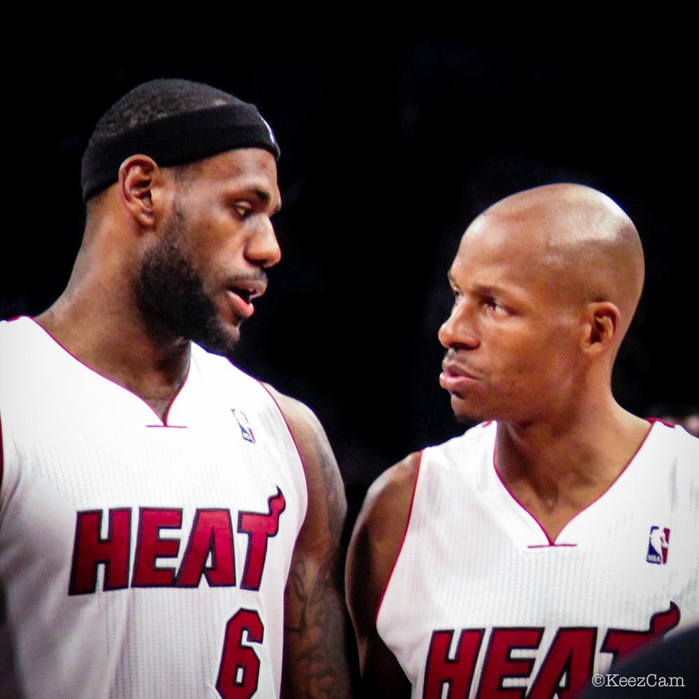 LeBron James & Ray Allen