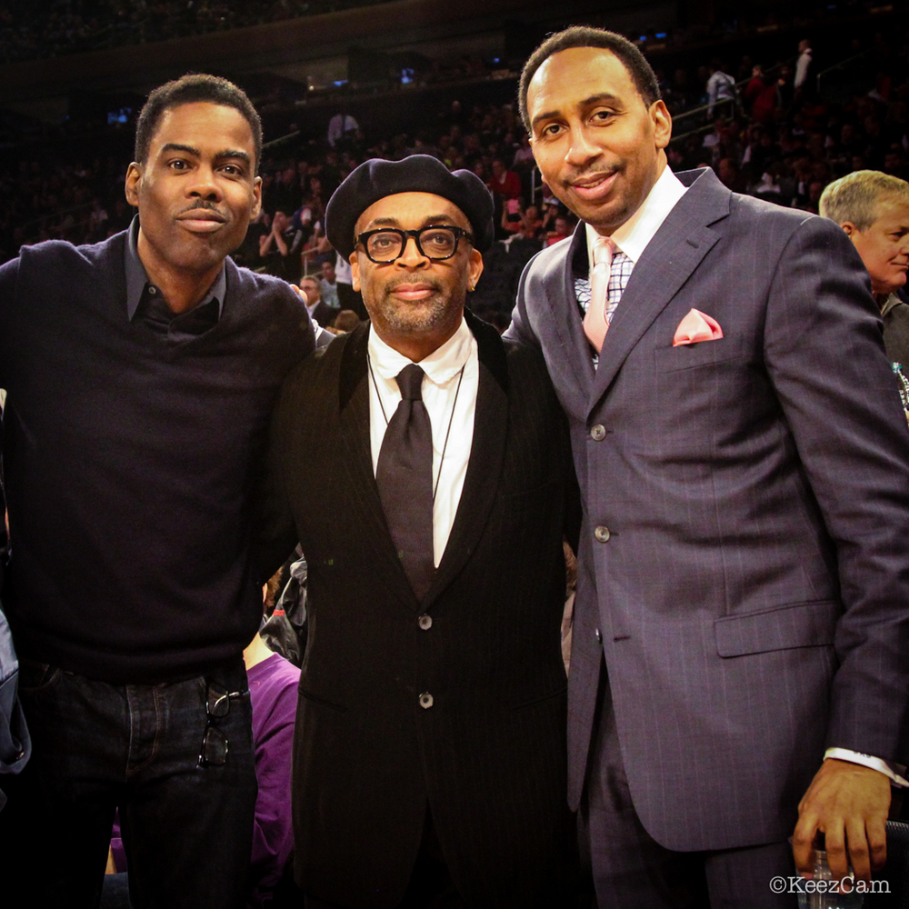 Chris Rock, Spike Lee & Stephen A. Smith