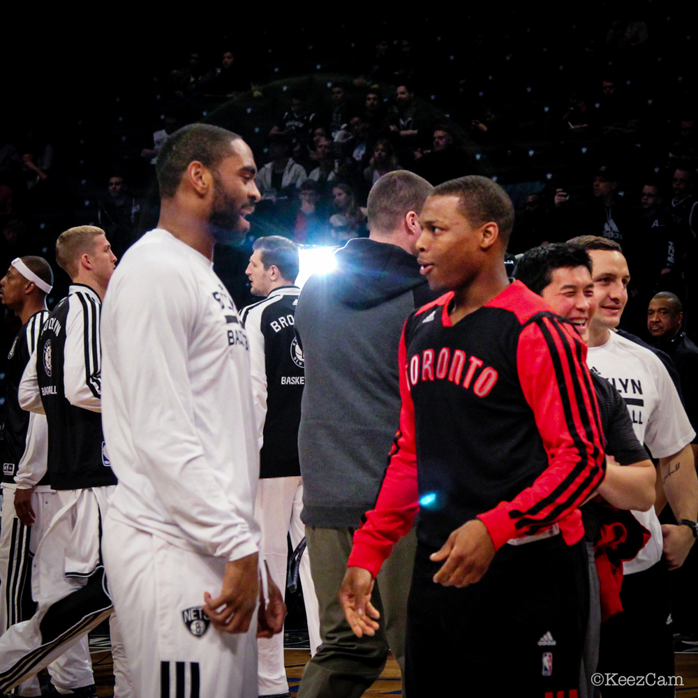Alan Anderson & Kyle Lowry