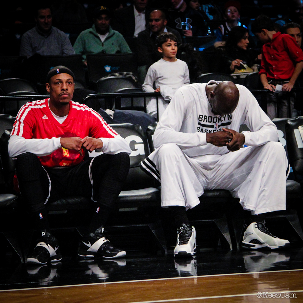 Paul Pierce & Kevin Garnett