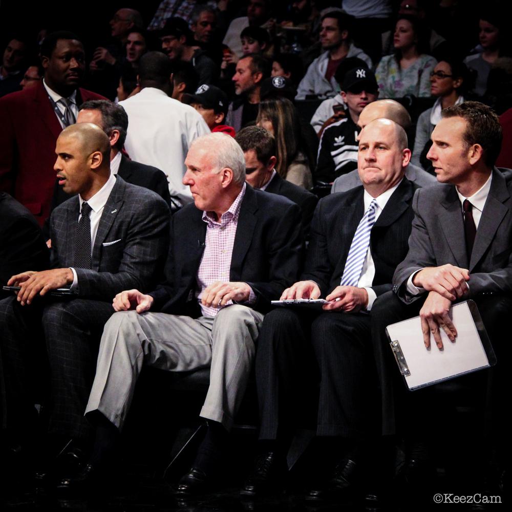 Gregg Popovich & the coaching staff