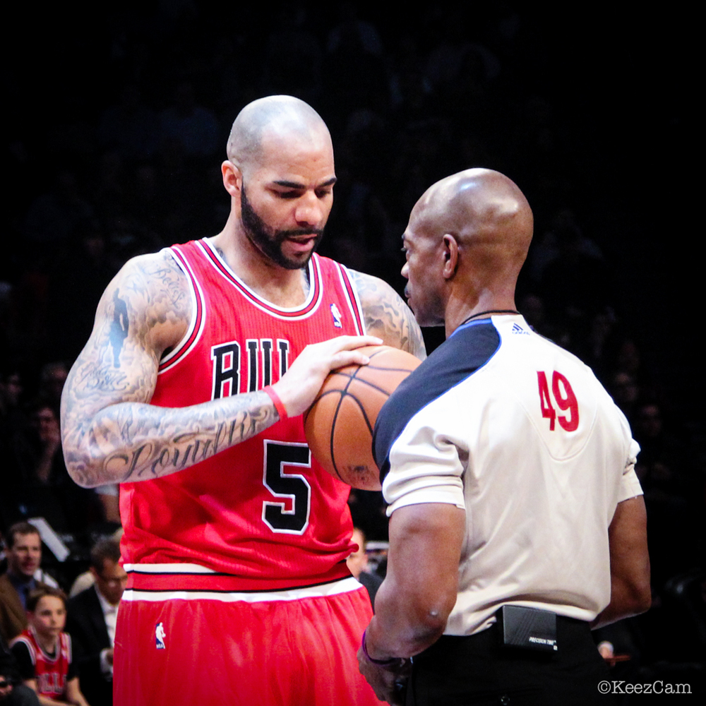 Carlos Boozer & Tom Washington