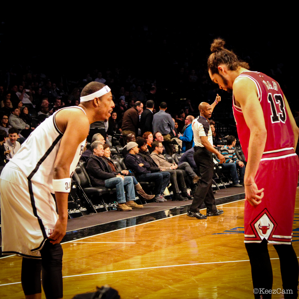 Paul Pierce & Joakim Noah