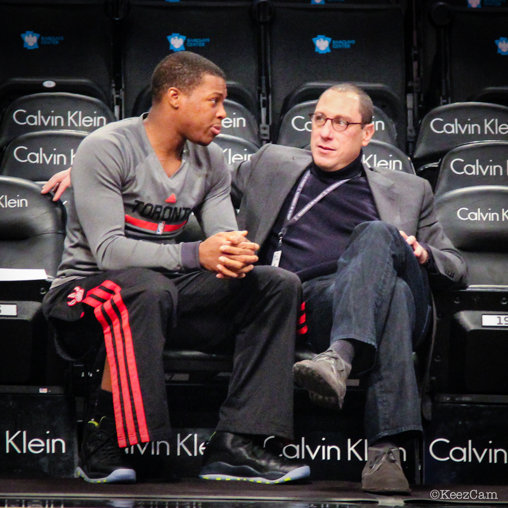 Kyle Lowry & Andy Miller