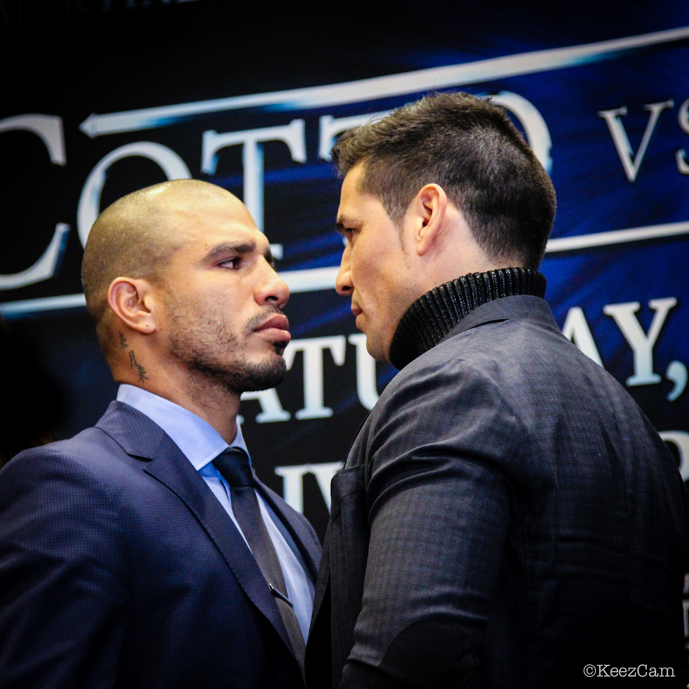 Miguel Cotto & Sergio Martinez