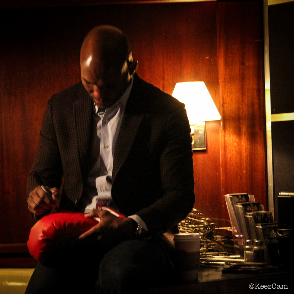 "Boxing's Elder Statesman Bernard ""The Alien"" Hopkins"