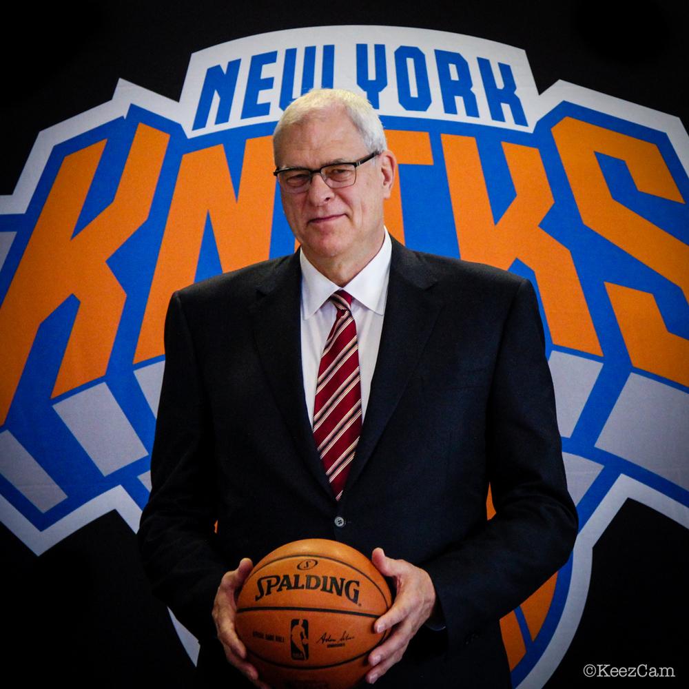New York Knicks Team President of Basketball Operations Phil Jackson