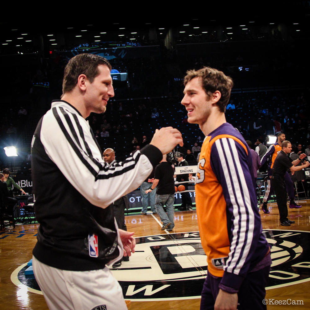 Mirza Teletovic & Goran Dragic